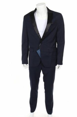 Ανδρικό κοστούμι Pier One, Μέγεθος L, Χρώμα Μπλέ, 80% πολυεστέρας, 20% βισκόζη, Τιμή 60,98€