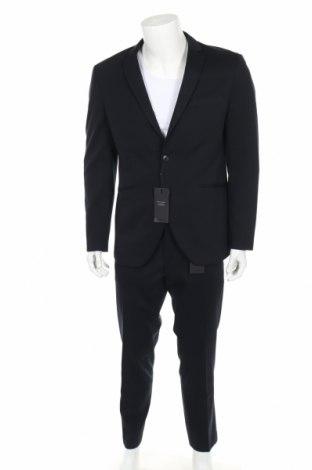 Ανδρικό κοστούμι Premium By Jack & Jones, Μέγεθος XL, Χρώμα Μπλέ, 80% πολυεστέρας, 20% βισκόζη, Τιμή 68,19€