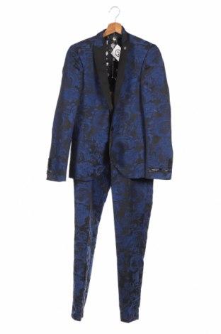 Ανδρικό κοστούμι Twisted Tailor, Μέγεθος S, Χρώμα Μπλέ, Πολυεστέρας, Τιμή 83,43€