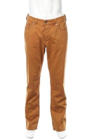 Мъжки панталон Atelier GARDEUR, Размер L, Цвят Кафяв, 97% памук, 3% еластан, Цена 17,27лв.