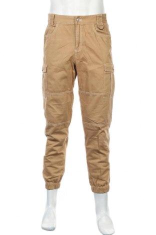 Ανδρικό παντελόνι Clockhouse, Μέγεθος S, Χρώμα Καφέ, Βαμβάκι, Τιμή 16,89€