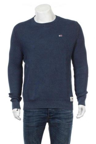 Ανδρικό πουλόβερ Tommy Hilfiger, Μέγεθος L, Χρώμα Μπλέ, Τιμή 61,34€