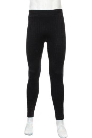 Męskie legginsy sportowe Crivit, Rozmiar L, Kolor Czarny, 69% poliamid, 25% poliester, 6% elastyna, Cena 40,80zł
