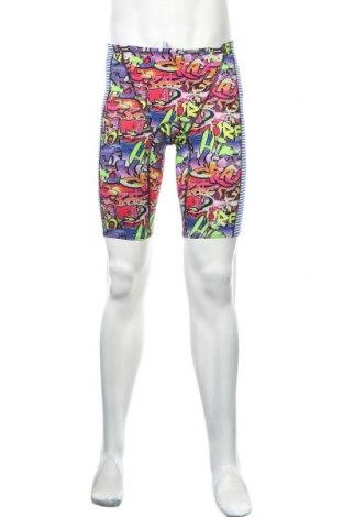 Męskie legginsy sportowe Dolfin, Rozmiar L, Kolor Kolorowy, 92% poliester, 8% elastyna, Cena 63,00zł