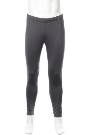 Męskie legginsy sportowe TCM, Rozmiar L, Kolor Szary, 92% poliester, 8% elastyna, Cena 37,80zł