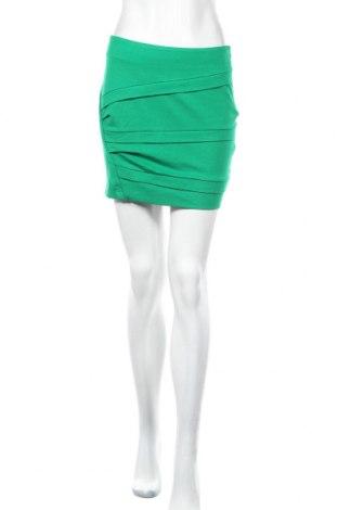 Φούστα Esprit, Μέγεθος S, Χρώμα Πράσινο, 70% βισκόζη, 25% πολυεστέρας, 5% ελαστάνη, Τιμή 2,47€