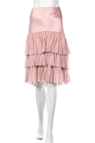 Пола Gerard Darel, Размер M, Цвят Розов, 100% коприна, Цена 35,88лв.