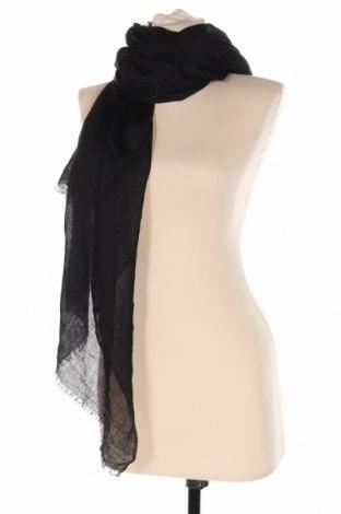 Κασκόλ Massimo Dutti, Χρώμα Μαύρο, Κασμίρι, Τιμή 61,34€