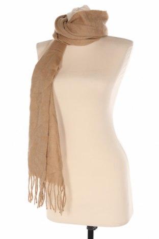 Κασκόλ Massimo Dutti, Χρώμα  Μπέζ, 80% μαλλί, 20% κασμίρι, Τιμή 51,03€