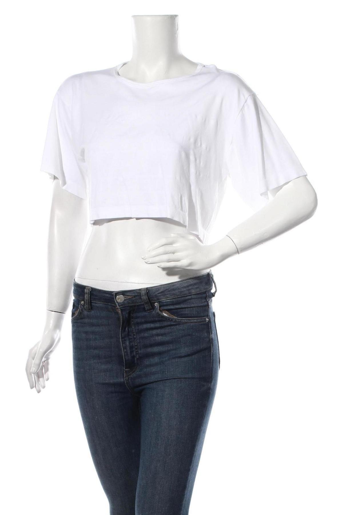 Дамска блуза Alexander Wang For H&M, Размер M, Цвят Бял, Полиамид, Цена 3,12лв.