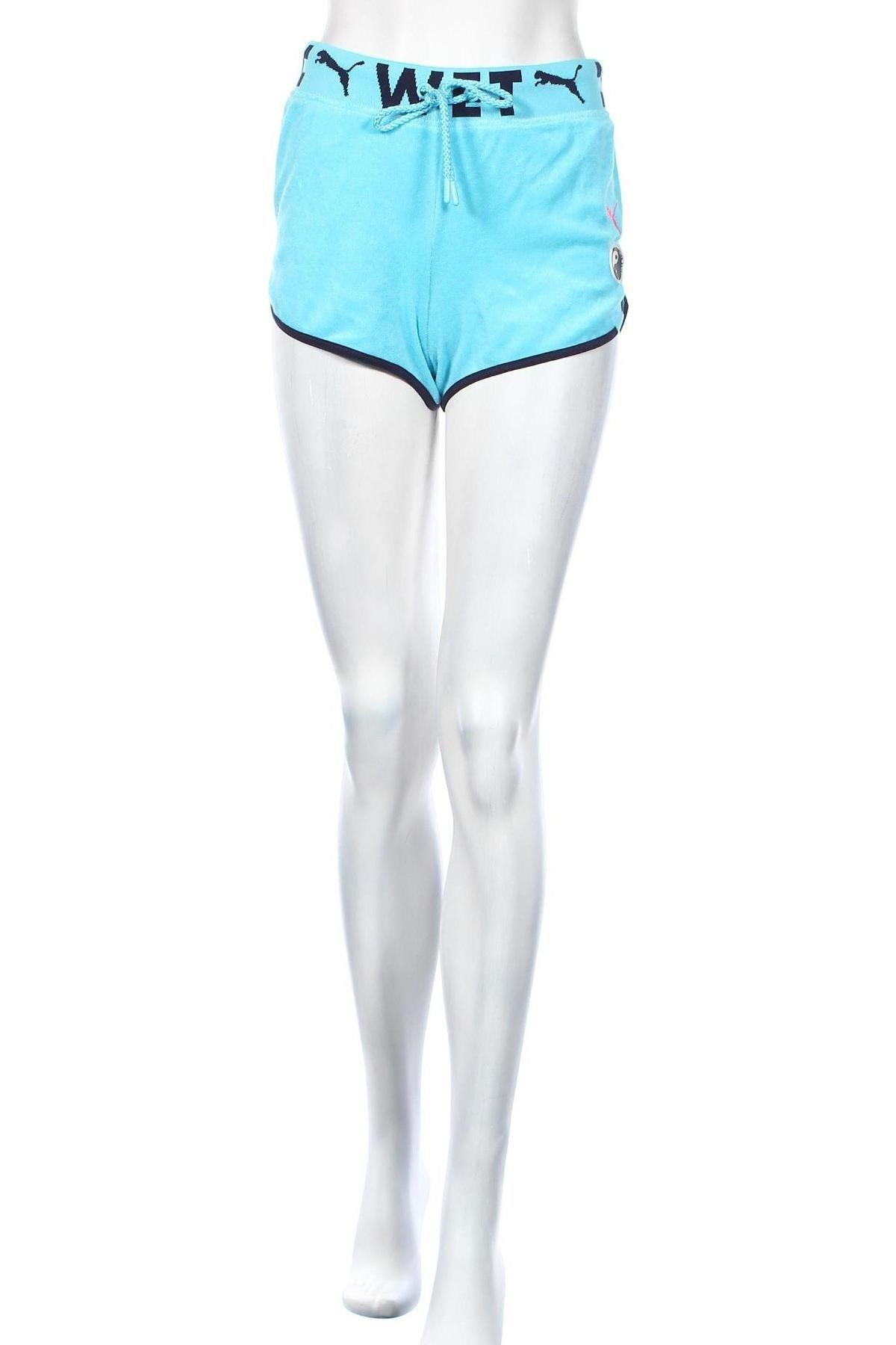 Дамски къс панталон Fenty Puma by Rihanna, Размер S, Цвят Син, 80% памук, 20% полиестер, Цена 126,75лв.