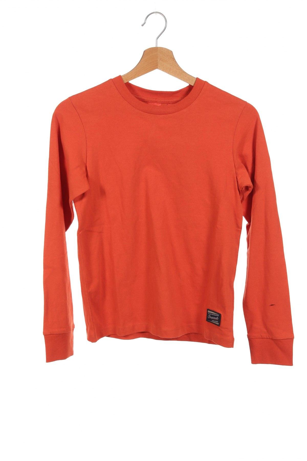 Детска блуза Jack & Jones, Размер 11-12y/ 152-158 см, Цвят Червен, Памук, Цена 26,52лв.