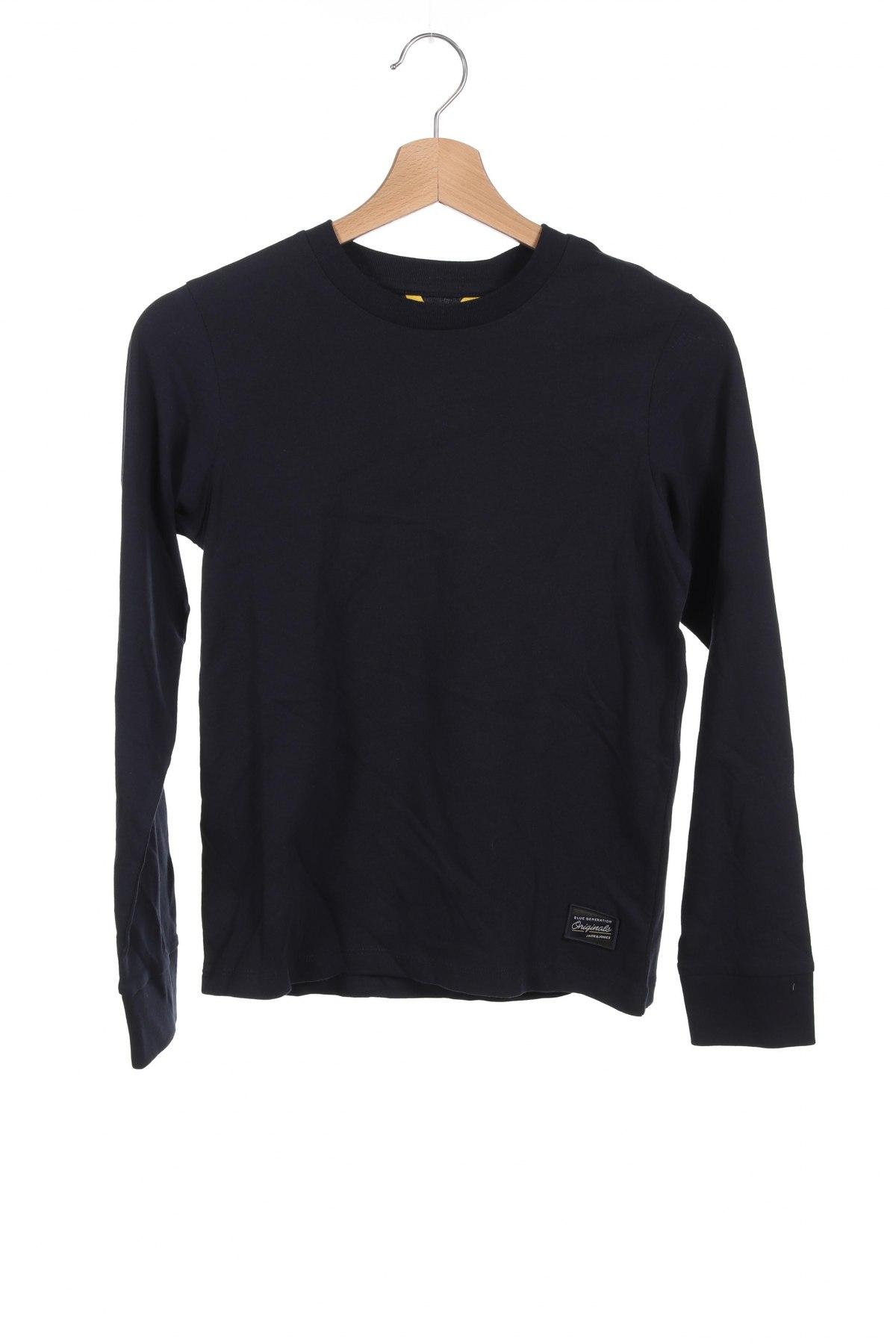Детска блуза Jack & Jones, Размер 11-12y/ 152-158 см, Цвят Син, Памук, Цена 26,52лв.