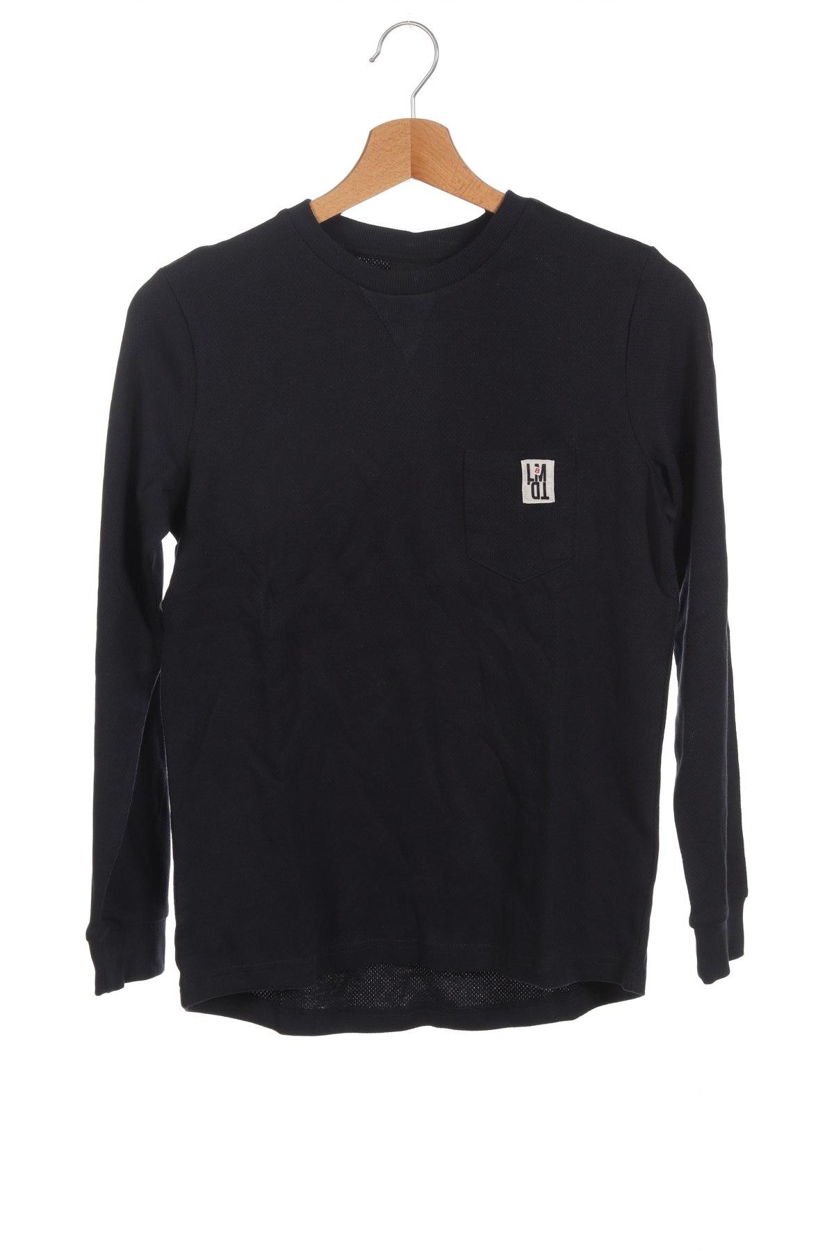 Детска блуза LMTD, Размер 10-11y/ 146-152 см, Цвят Син, 98% памук, 2% вискоза, Цена 24,57лв.