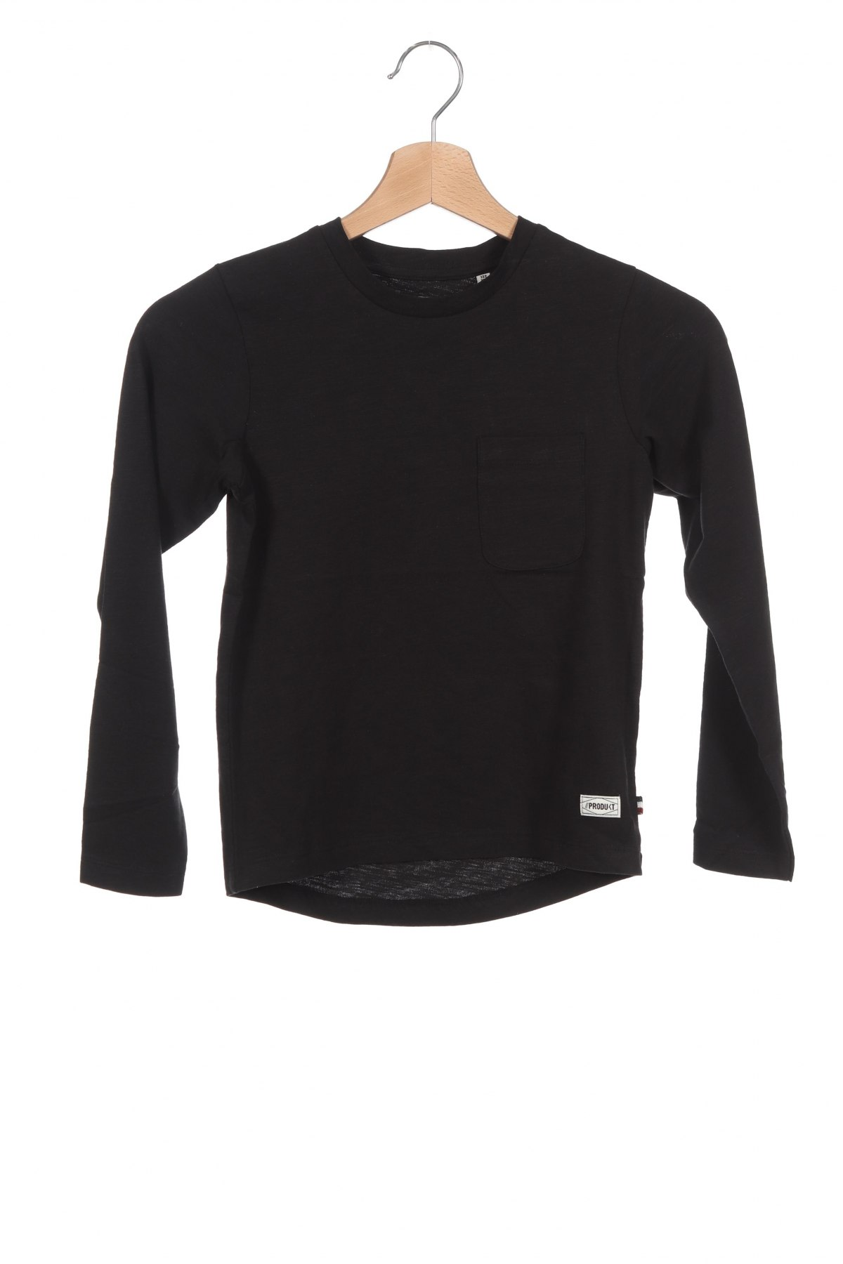 Детска блуза Produkt by Jack & Jones, Размер 6-7y/ 122-128 см, Цвят Черен, Цена 29,25лв.