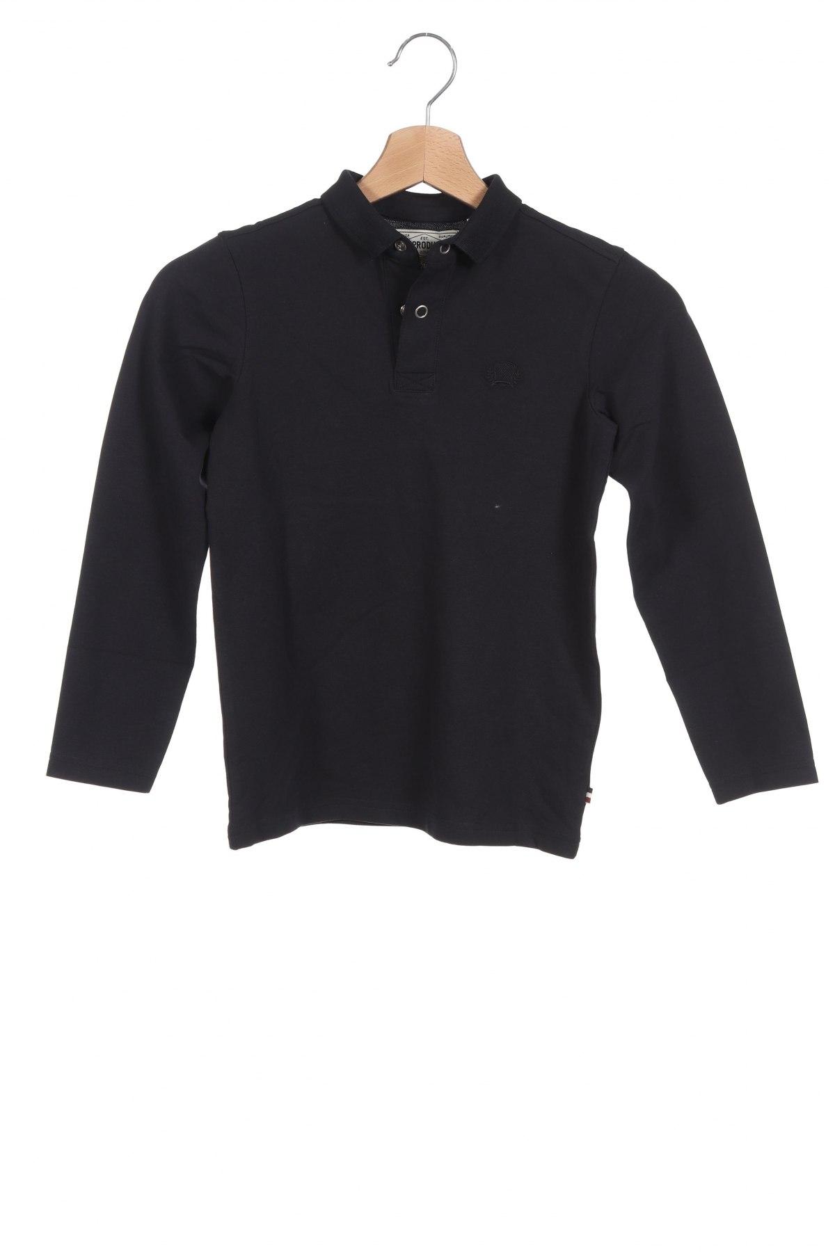 Детска блуза Produkt by Jack & Jones, Размер 6-7y/ 122-128 см, Цвят Син, 95% памук, 5% еластан, Цена 33,32лв.