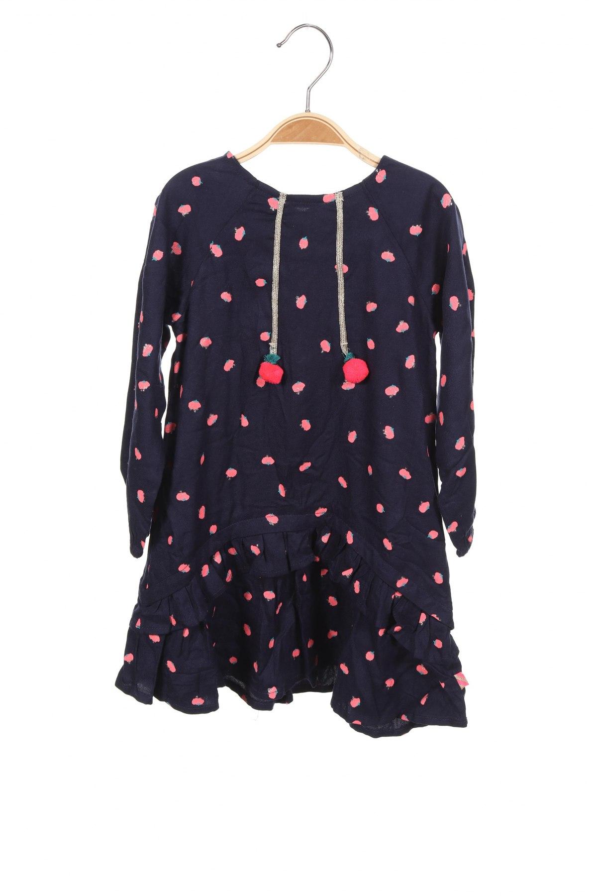 Детска рокля Billieblush, Размер 18-24m/ 86-98 см, Цвят Син, Вискоза, Цена 44,85лв.