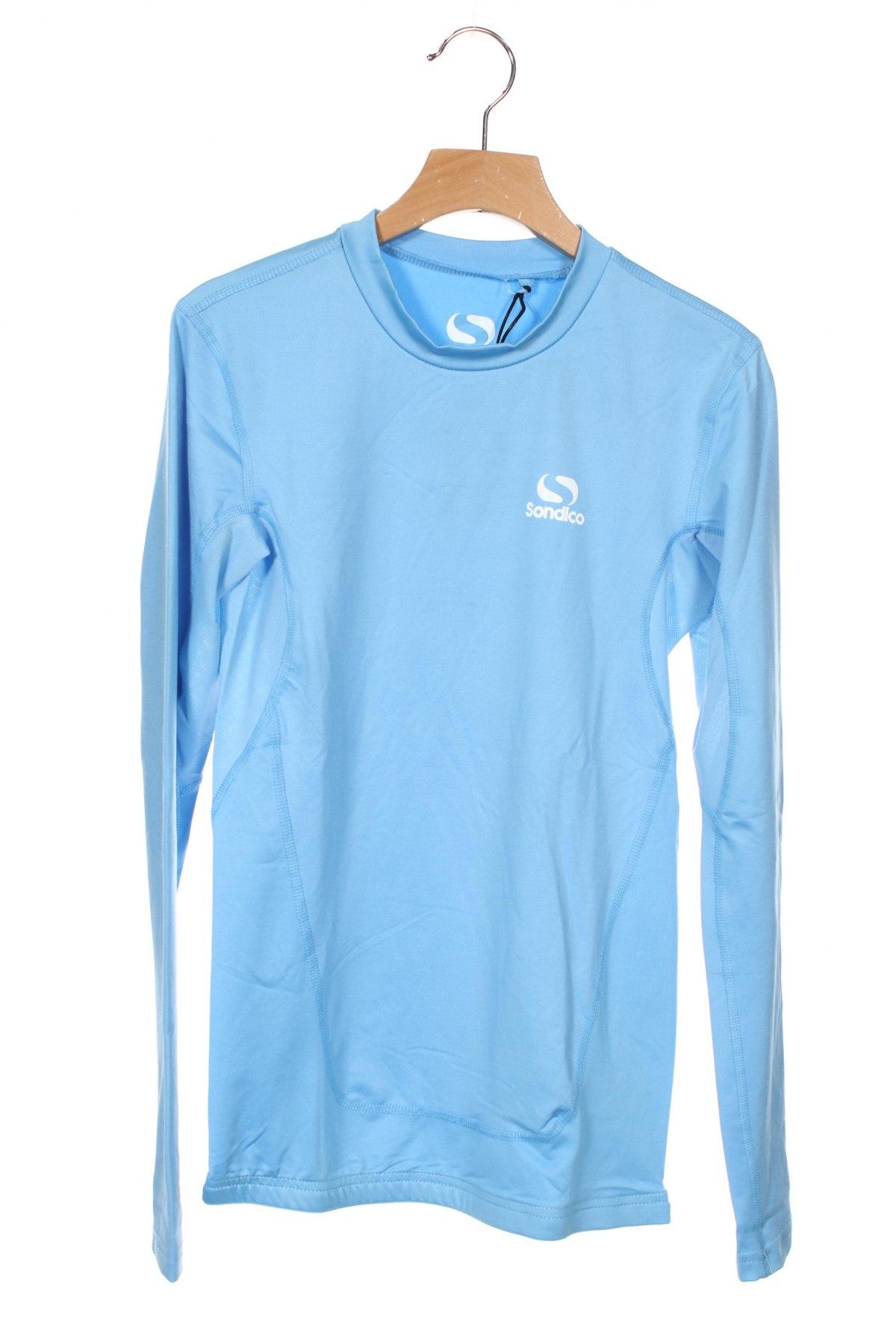 Детска спортна блуза Sondico, Размер 12-13y/ 158-164 см, Цвят Син, 92% полиамид, 8% еластан, Цена 22,68лв.