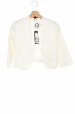 Болеро Comma,, Размер XS, Цвят Бял, 97% памук, 3% еластан, Цена 87,57лв.