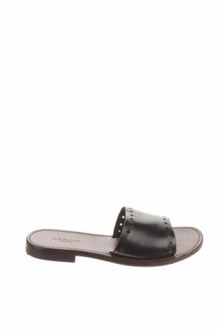 Pantofle L.K.Bennett, Velikost 38, Barva Hnědá, Pravá kůže, Cena  1040,00Kč