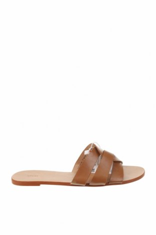 Papuci Lefties, Mărime 36, Culoare Maro, Piele ecologică, Preț 61,05 Lei