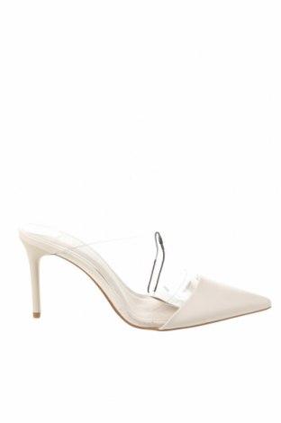 Pantofle Zara, Velikost 37, Barva Bílá, Eko kůže, polyurethane, Cena  707,00Kč