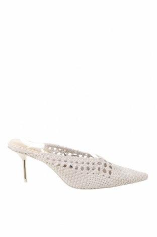 Pantofle Zara, Velikost 39, Barva Bílá, Eko kůže, Cena  750,00Kč