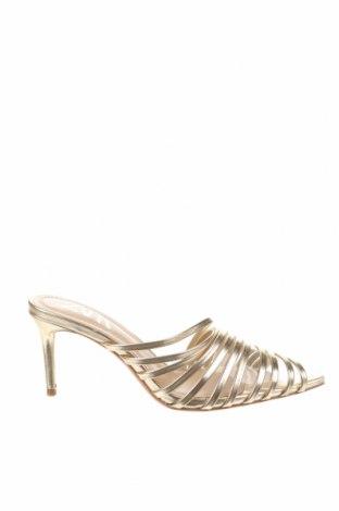 Pantofle Zara, Velikost 36, Barva Zlatistá, Eko kůže, Cena  566,00Kč