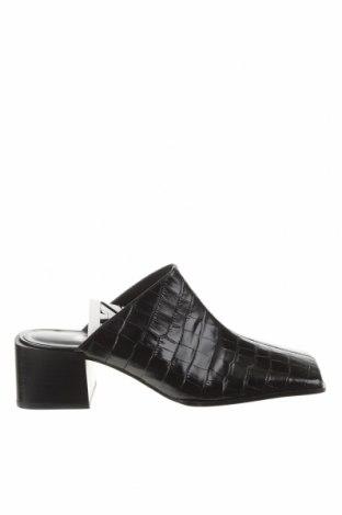 Pantofle Zara, Velikost 39, Barva Černá, Pravá kůže, Cena  968,00Kč