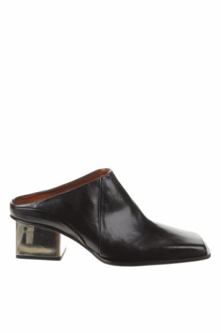 Pantofle Zara, Velikost 39, Barva Černá, Pravá kůže, Cena  1000,00Kč