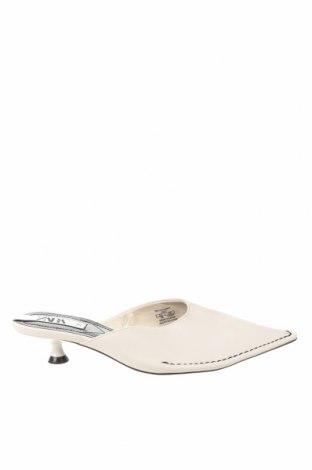 Pantofle Zara, Velikost 36, Barva Bílá, Eko kůže, Cena  750,00Kč