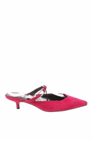 Pantofle Zara, Velikost 36, Barva Růžová, Přírodní velur , Cena  1065,00Kč