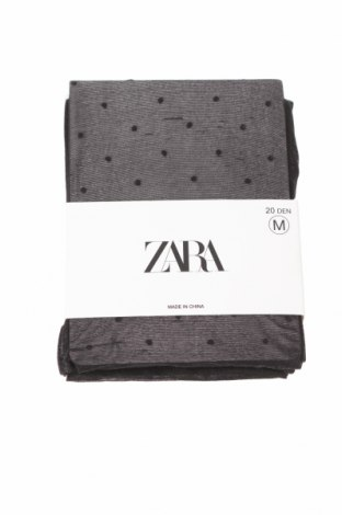 Чорапогащи Zara, Размер M, Цвят Черен, 87% полиамид, 13% еластан, Цена 21,75лв.