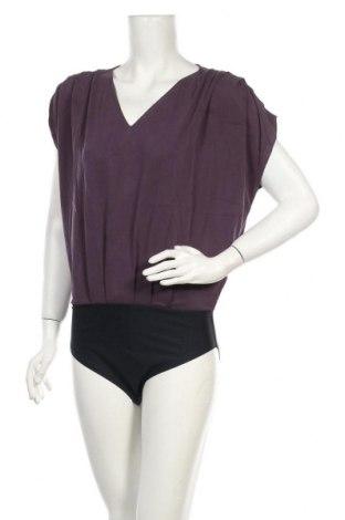 Дамска блуза - боди Culture, Размер M, Цвят Лилав, 70% модал, 30% полиестер, Цена 44,25лв.