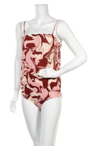 Дамска блуза - боди Soaked In Luxury, Размер M, Цвят Многоцветен, 95% вискоза, 5% еластан, Цена 19,50лв.