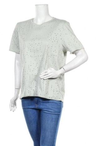 Дамска блуза COS, Размер L, Цвят Зелен, Памук, Цена 44,00лв.