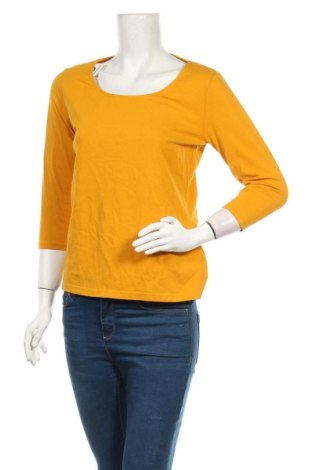 Дамска блуза Colours Of The World, Размер M, Цвят Жълт, 95% памук, 5% еластан, Цена 7,14лв.