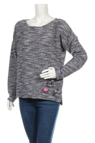 Дамска блуза Colours Of The World, Размер M, Цвят Син, 63% полиестер, 37% памук, Цена 6,25лв.