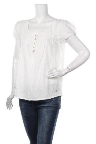 Дамска блуза Culture, Размер M, Цвят Бял, Памук, Цена 43,50лв.
