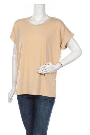Дамска блуза Culture, Размер M, Цвят Бежов, 70% модал, 30% полиестер, Цена 38,35лв.