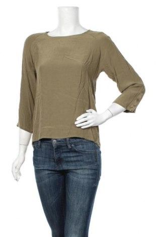 Дамска блуза Culture, Размер XS, Цвят Зелен, Вискоза, Цена 29,67лв.
