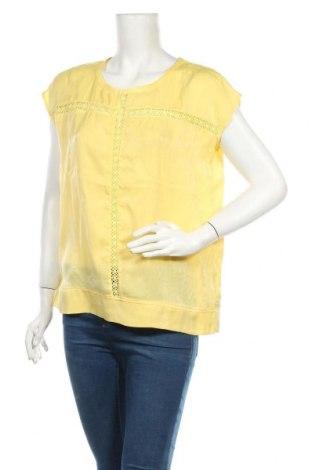 Дамска блуза Culture, Размер M, Цвят Жълт, Полиестер, Цена 31,85лв.
