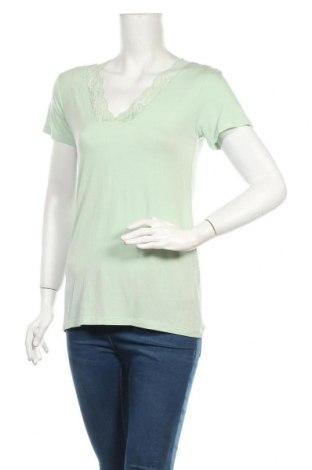 Дамска блуза Culture, Размер M, Цвят Зелен, 95% вискоза, 5% еластан, Цена 9,80лв.