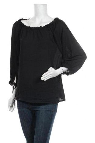 Дамска блуза Culture, Размер L, Цвят Черен, Цена 28,80лв.