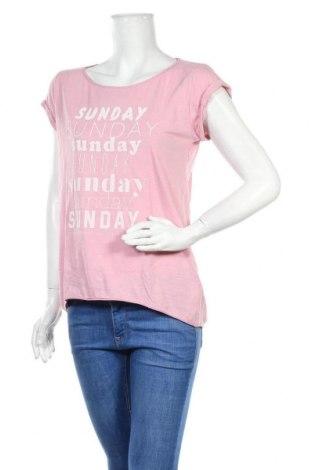 Дамска блуза Esprit, Размер S, Цвят Розов, Памук, Цена 15,75лв.