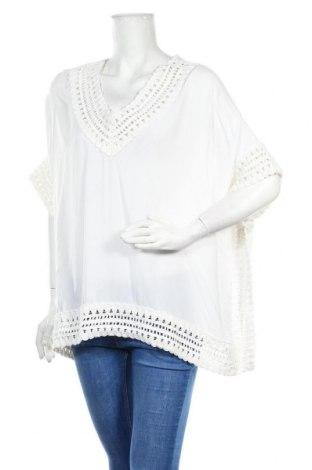Дамска блуза Heine, Размер L, Цвят Бял, Вискоза, Цена 18,00лв.