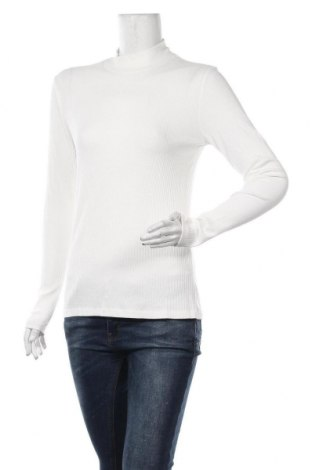 Γυναικεία μπλούζα Kaffe, Μέγεθος L, Χρώμα Λευκό, 95% βισκόζη, 5% ελαστάνη, Τιμή 12,45€