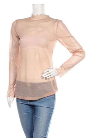 Дамска блуза Kaffe, Размер M, Цвят Пепел от рози, 95% полиамид, 5% еластан, Цена 29,67лв.