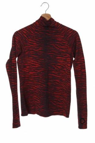 Дамска блуза Kenzo by H&M, Размер XS, Цвят Червен, 96% вълна, 4% еластан, Цена 57,00лв.