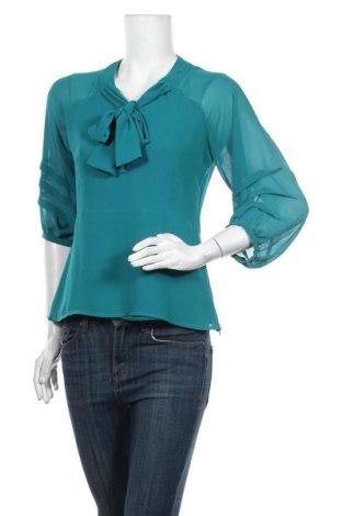 Дамска блуза Marks & Spencer Limited Collection, Размер M, Цвят Зелен, Полиестер, Цена 19,50лв.